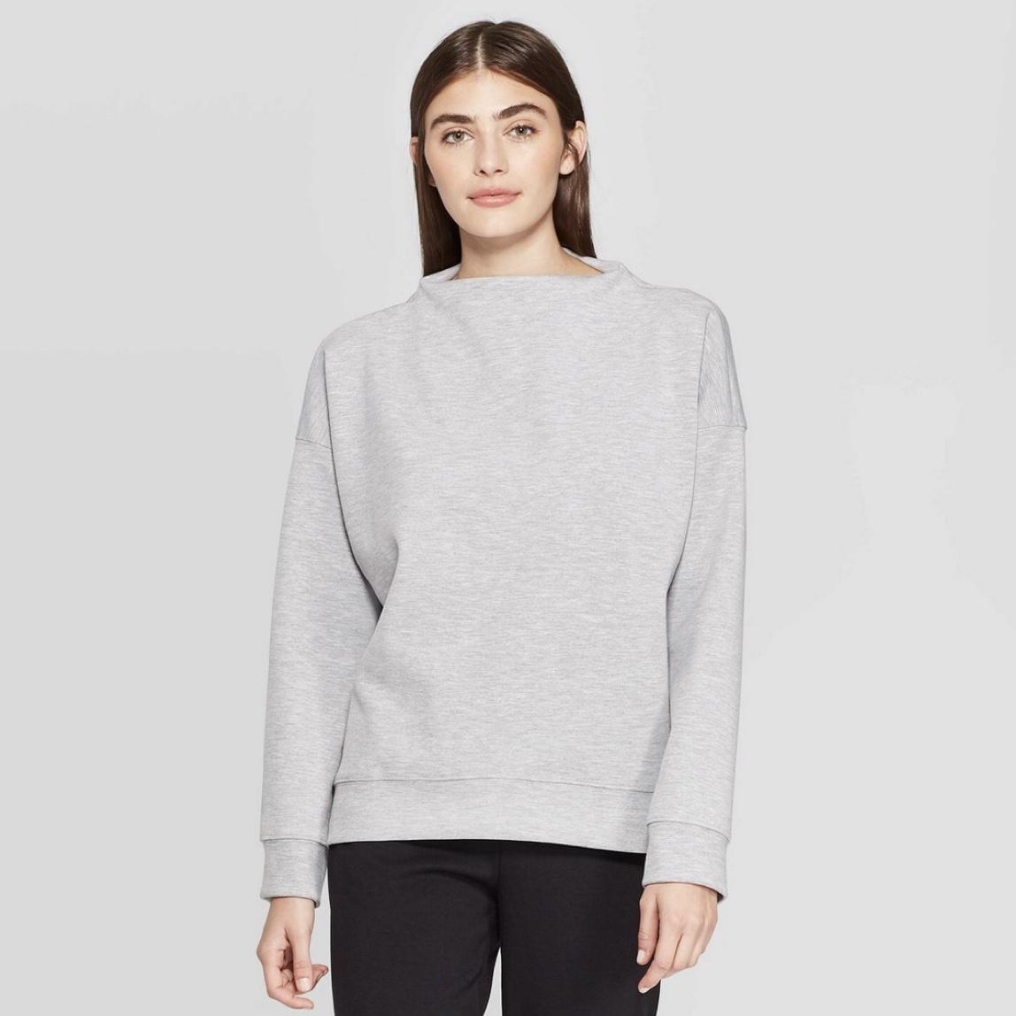 Prologue Mock Neck Sweatshirt