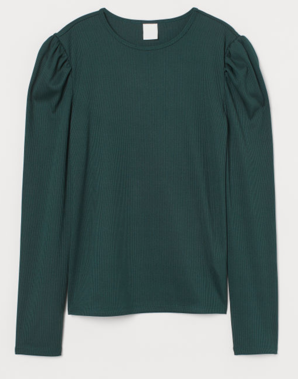 Puff-sleeved Top