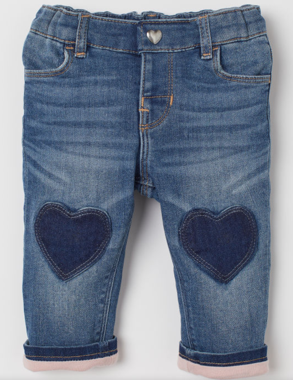 Jersey-lined Jeans