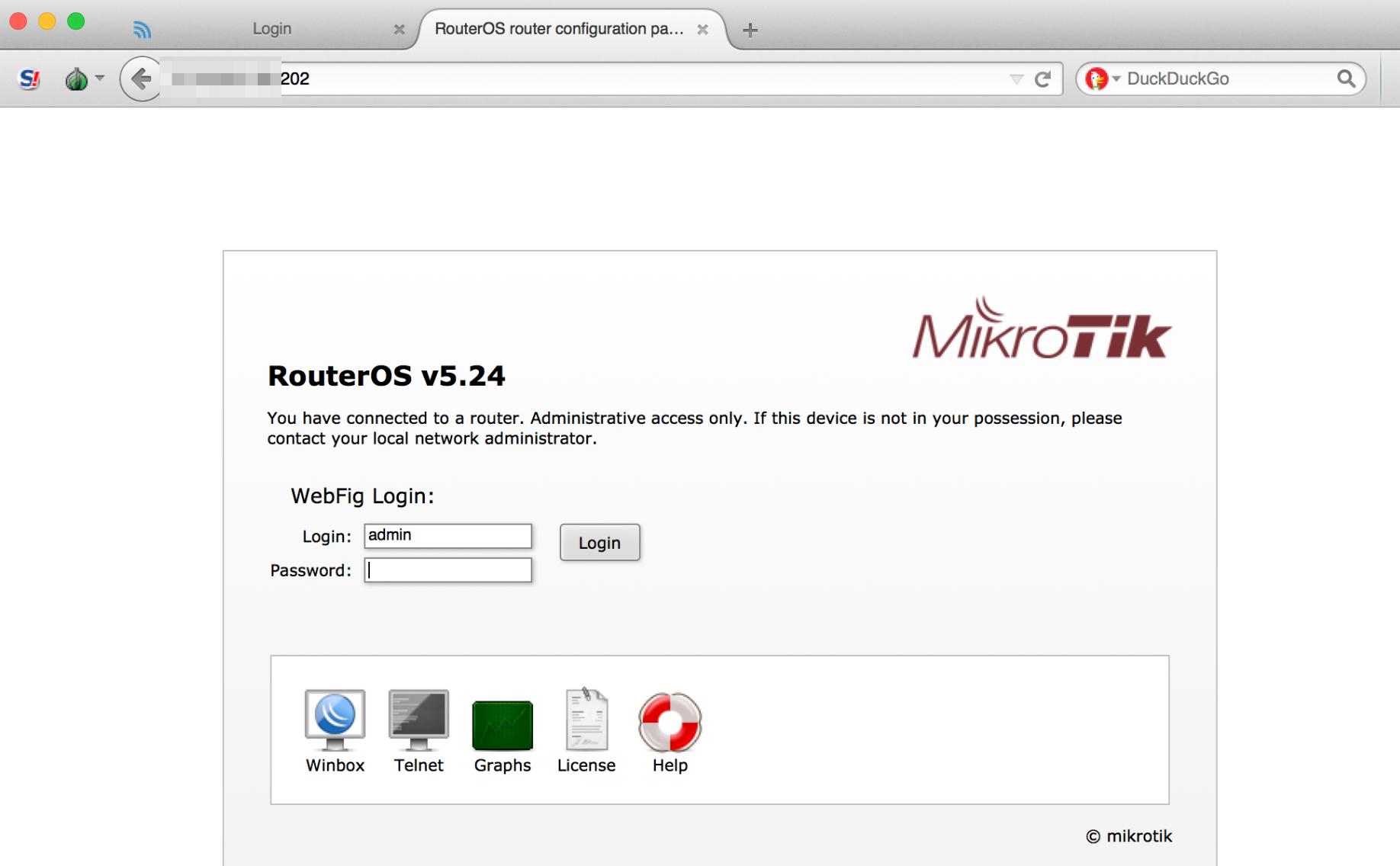 RouterOS MicroTiK