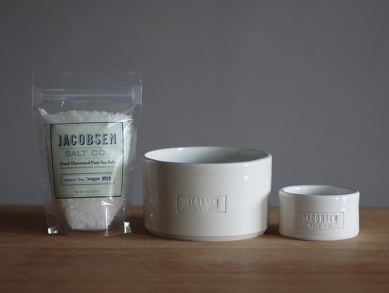 jacobsen salt cellars as seen in williams and sonoma