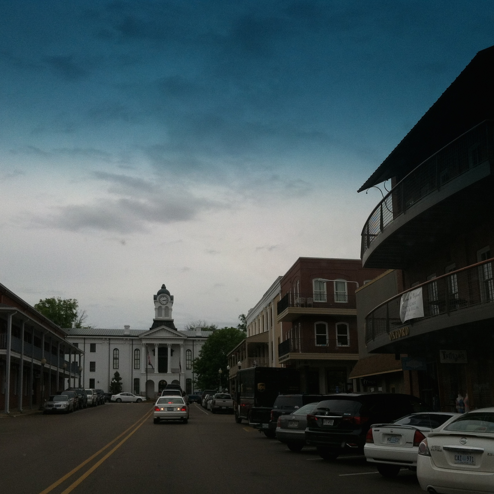 lots of beautiful old buildings in this lovely little college town in mississippi.
