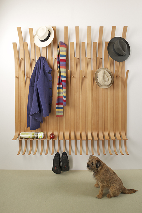 Ben's Design Guild Mark approved Hat Tree is available to order online from Design Masters at The Futon Company