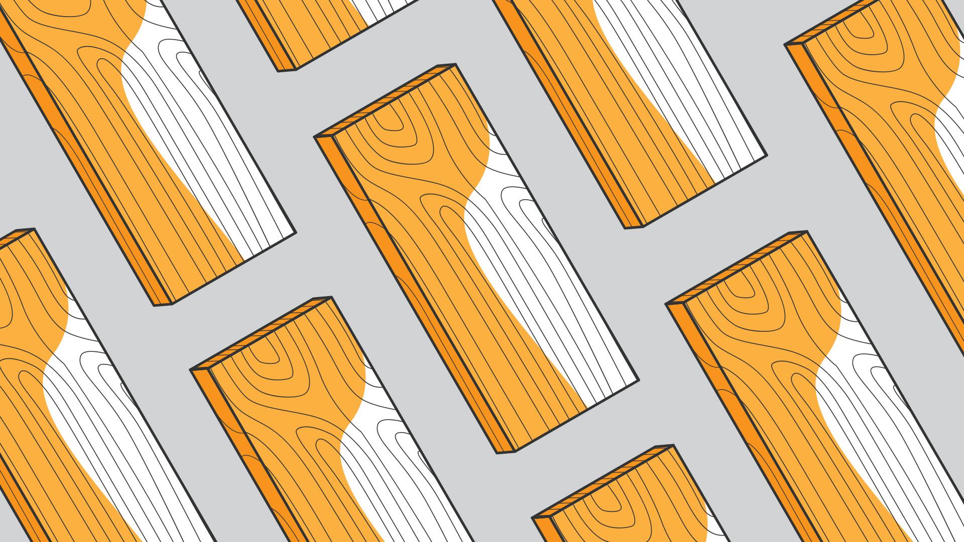 Material illustration: Wood