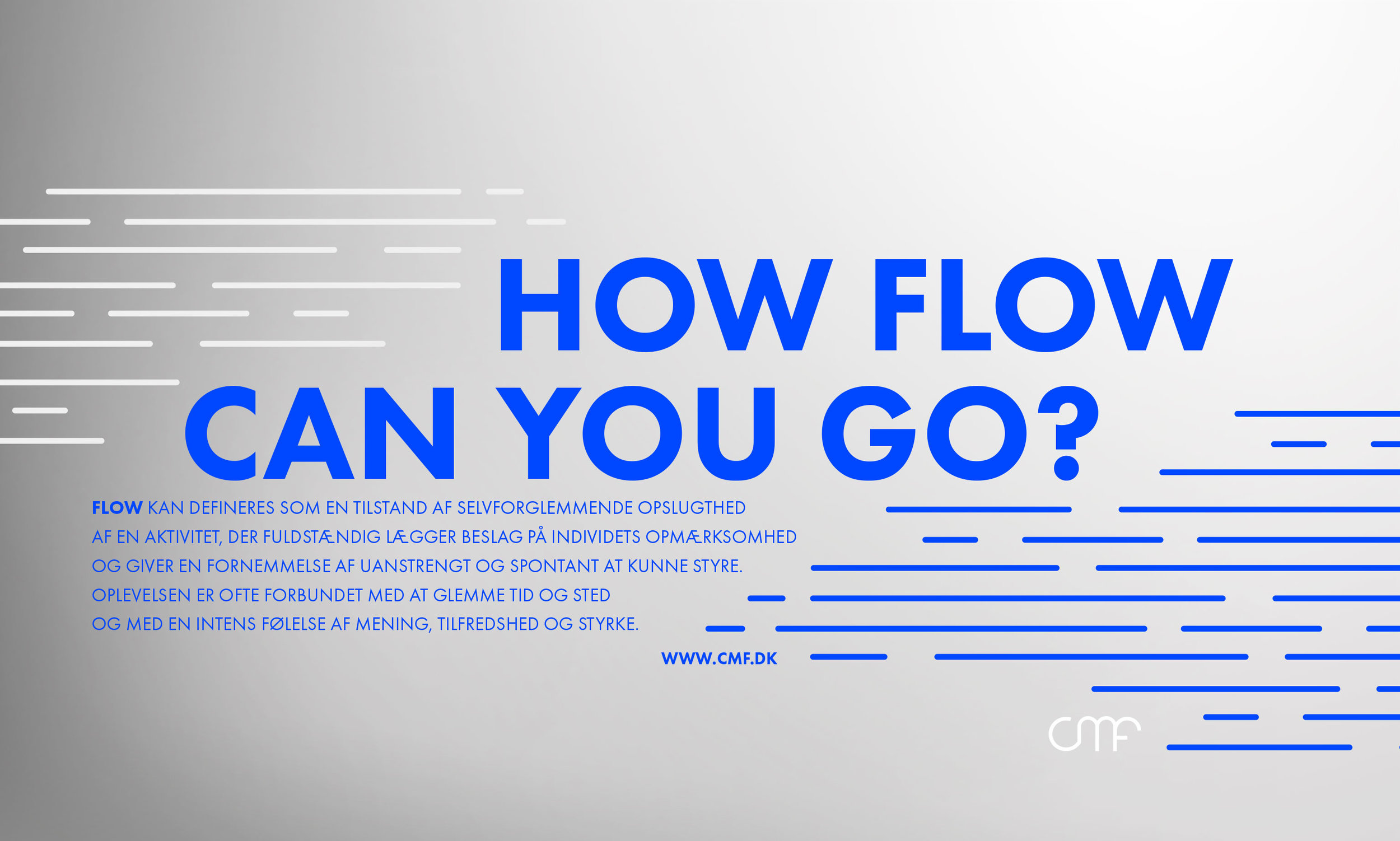 "Branding: General identity wallpaper for the computers ind the companys editing suits called ""Flow""."