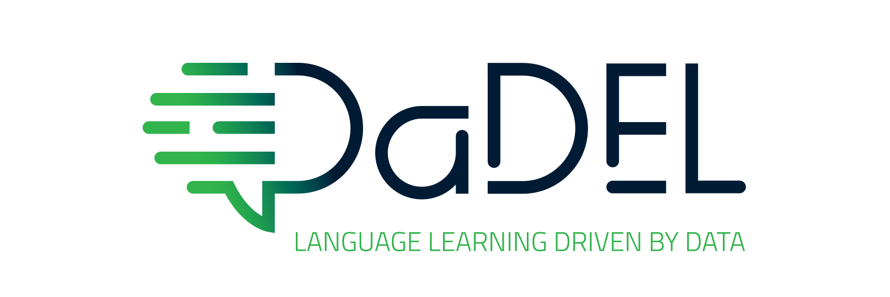 Logo design & identity for a international digital language learning tool - Case: Visuel Identity