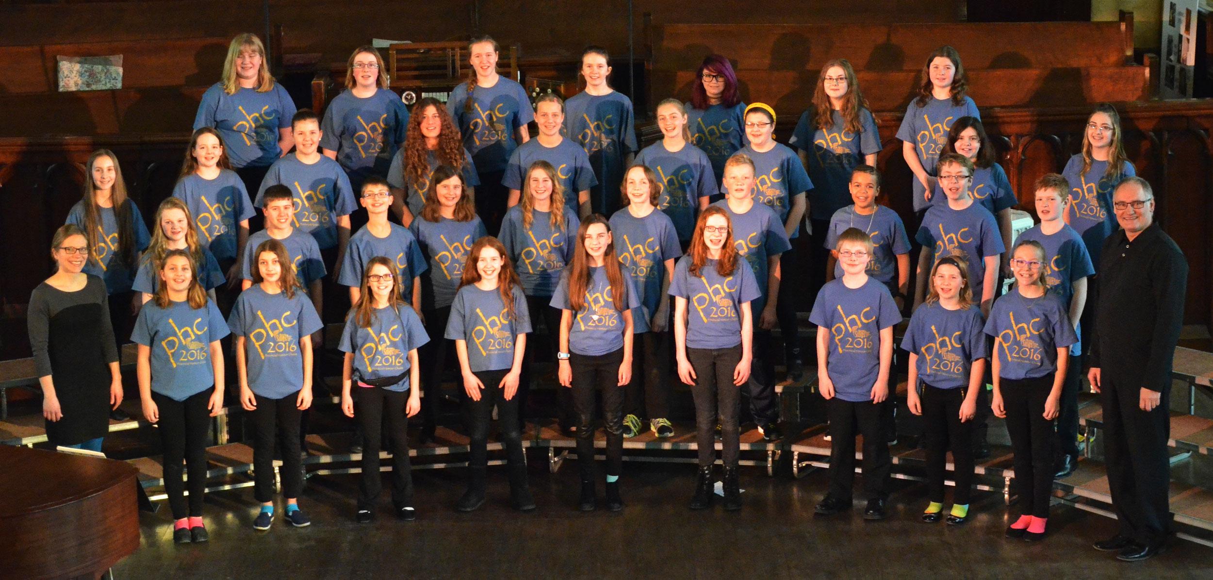 PHC 2016 Junior Choir - Doug Pankratz, conductor