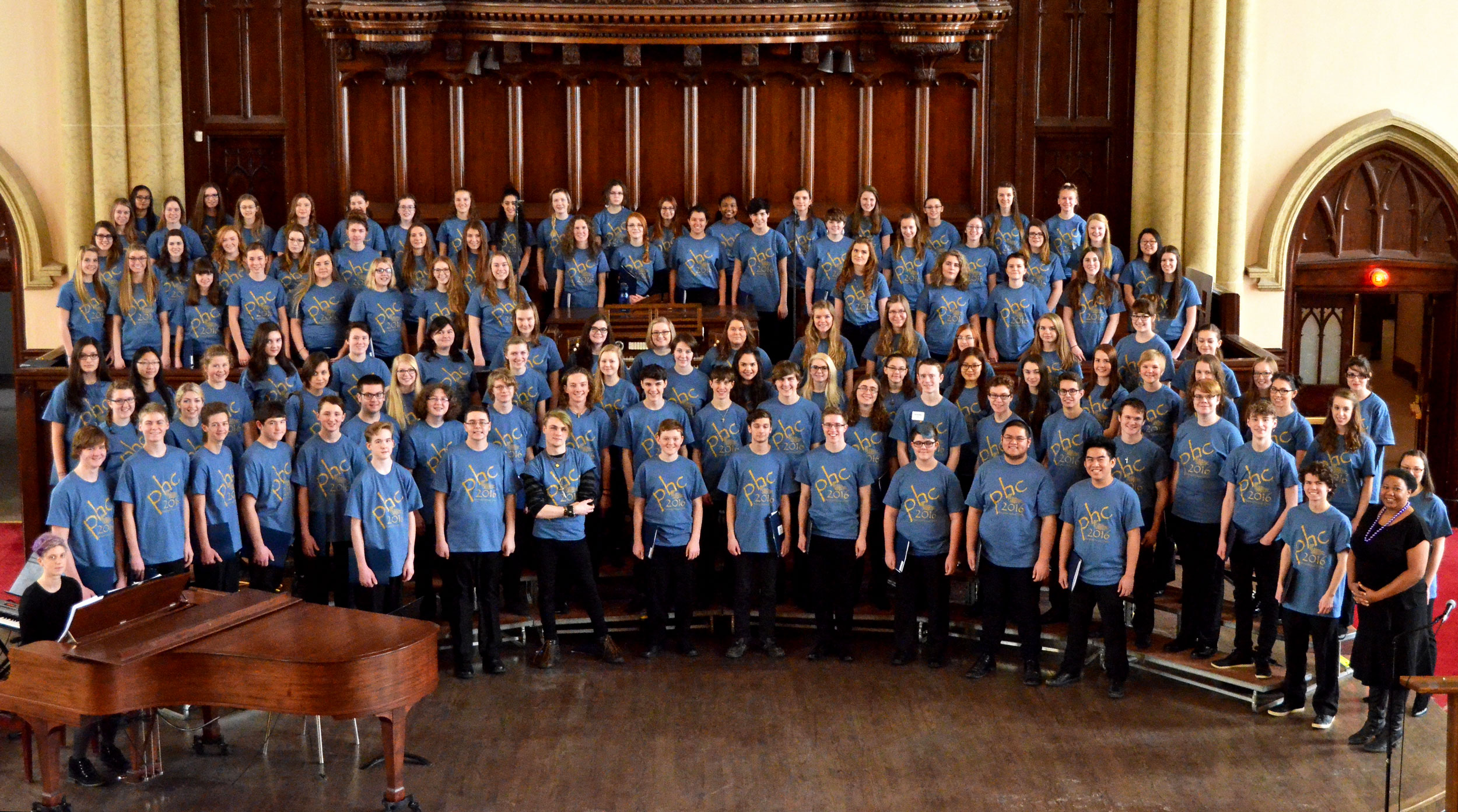 PHC 2016 Senior Choir - Cynthia Peyson Wahl, conductor