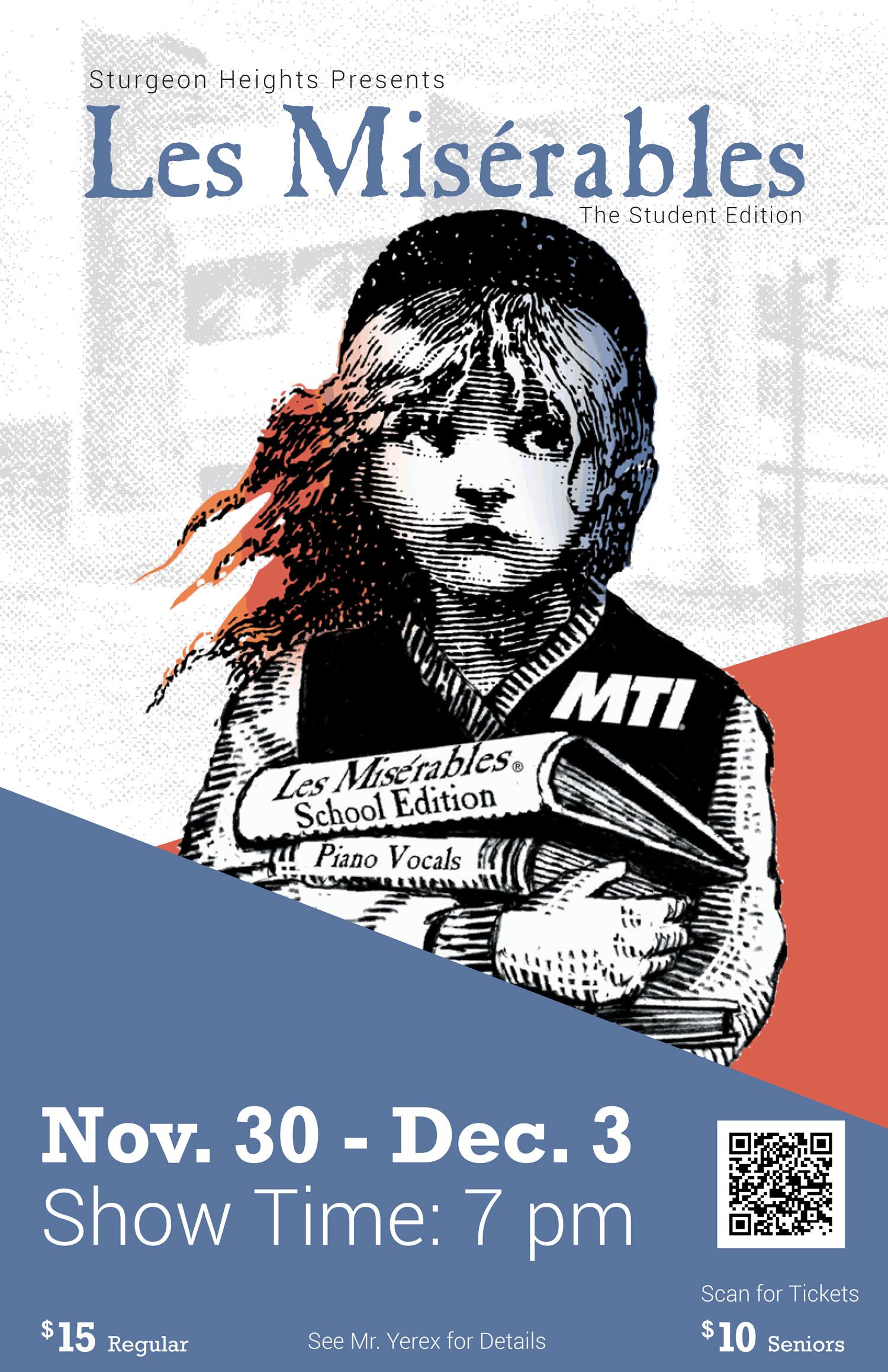 Les Misérables - School Edition performed by Sturgeon Heights Collegiate, Winnipeg