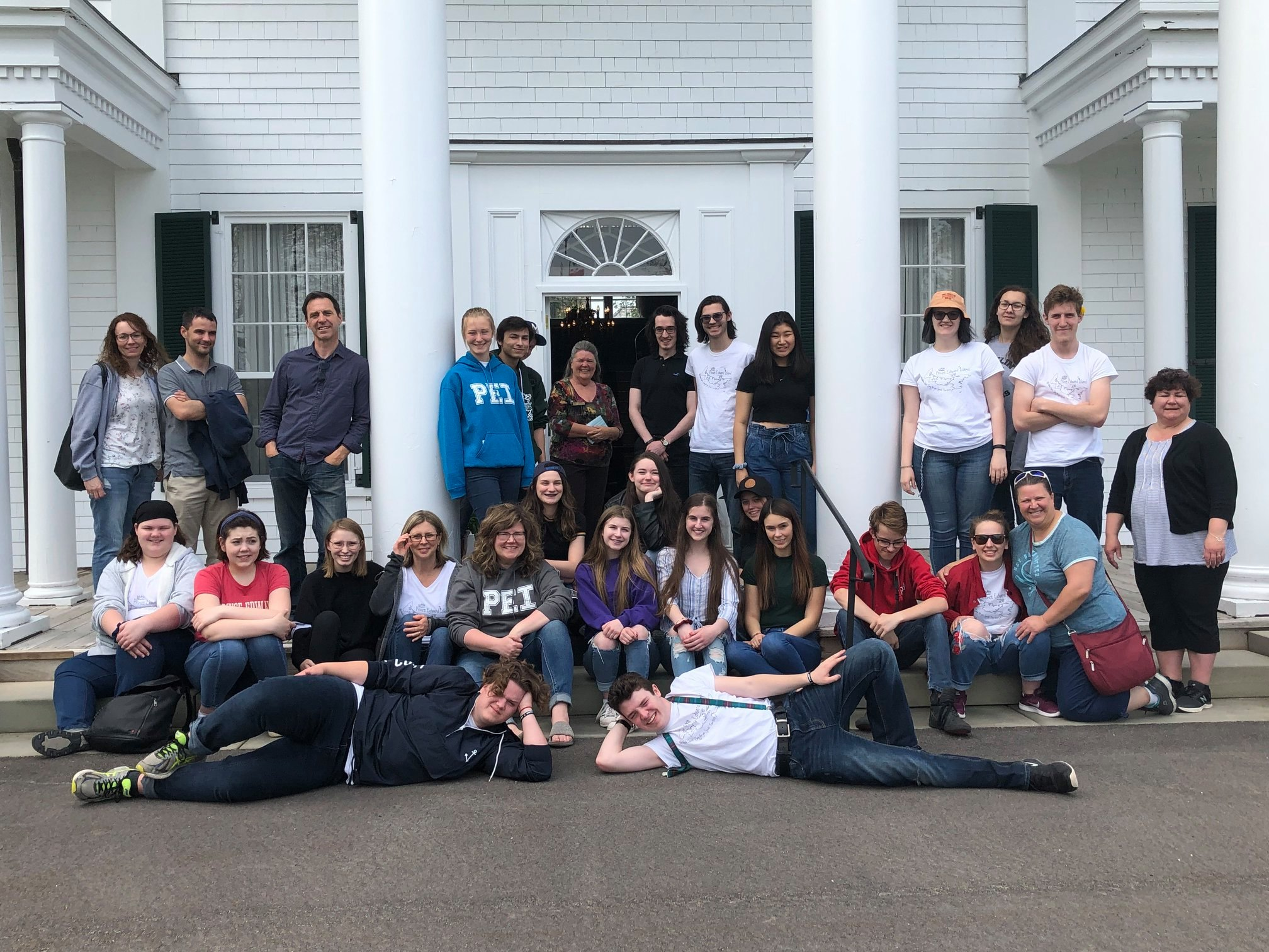 Neelin Choir on tour in PEI, May 2019