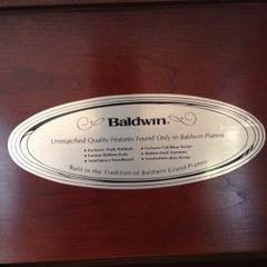 Baldwin piano lable