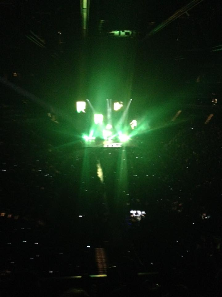 ed sheeran at Barclays Brooklyn