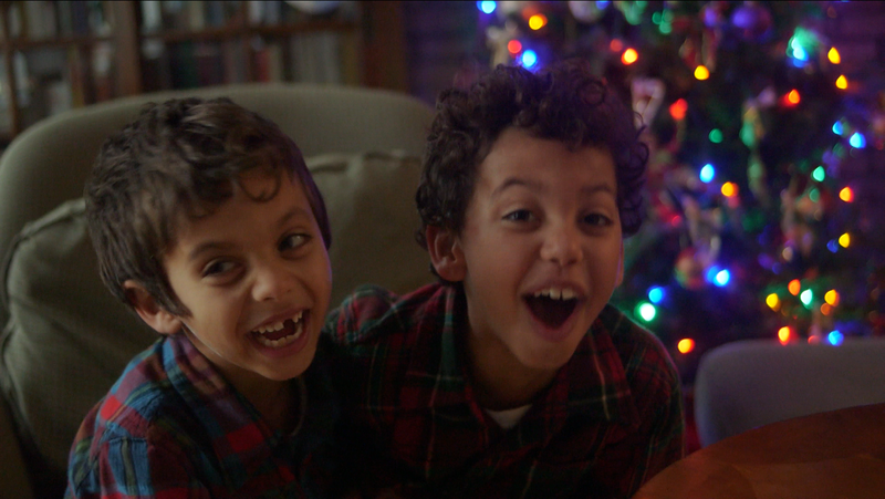 holiday video card