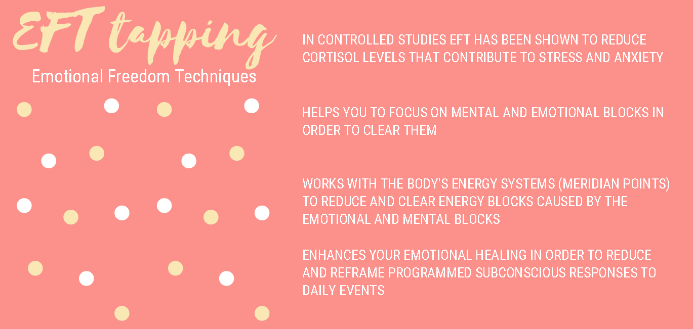 Tap into your dream life - I'm so glad you have decided to take your emotional and mental well-being into your own hands.EFT has been around for quite some time and is used by licensed professionals as well as individuals for good reason.... it can change lives.