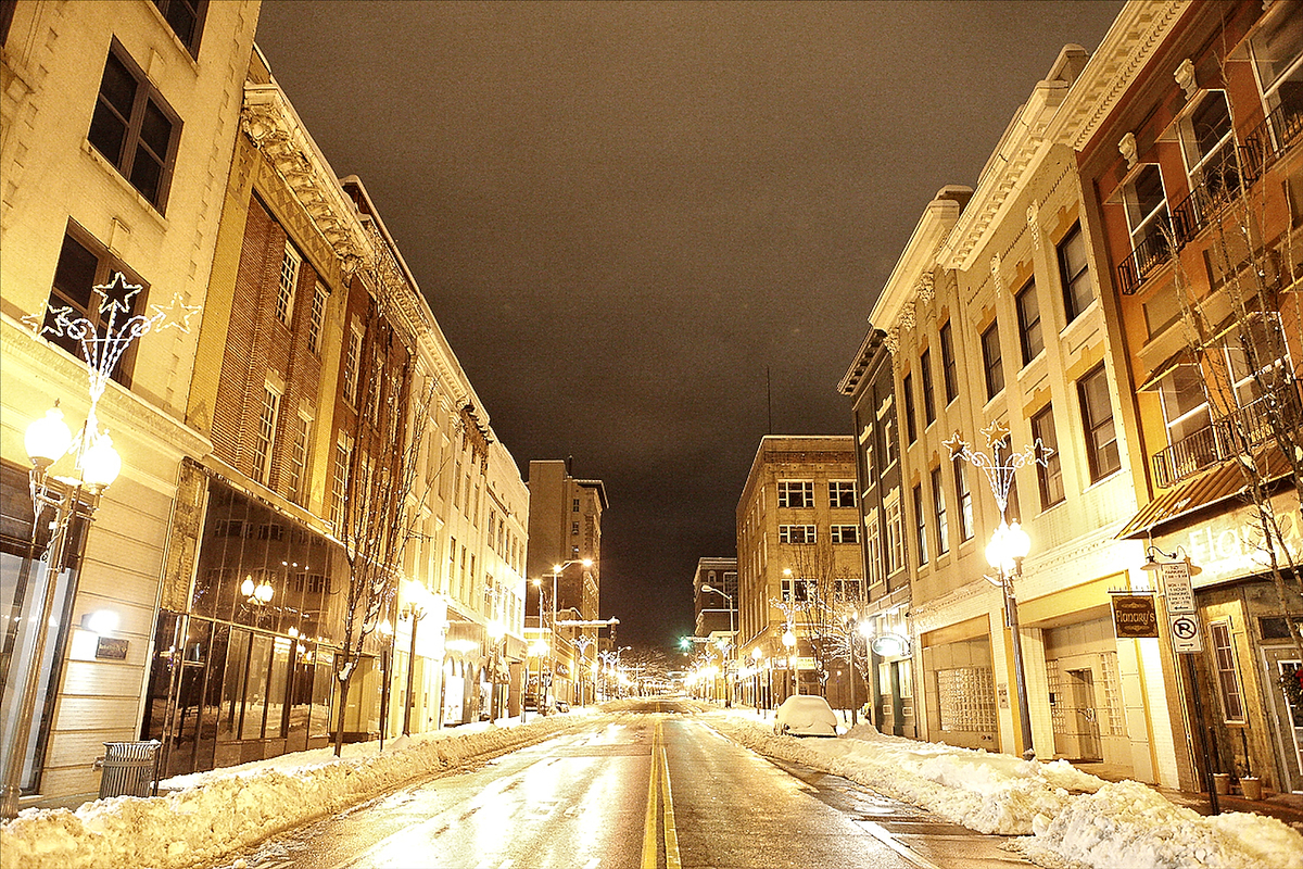 Snow in Roanoke