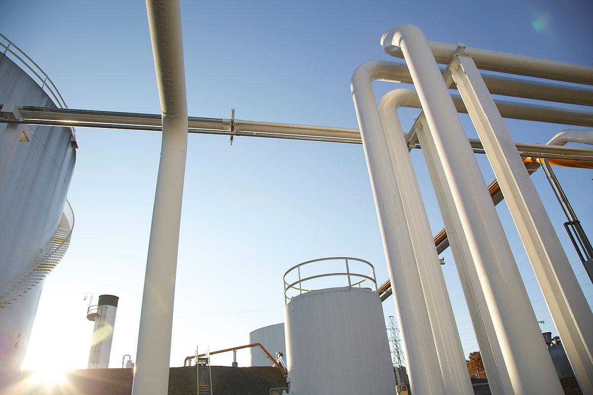 Oil distribution plant in Roanoke, VA.