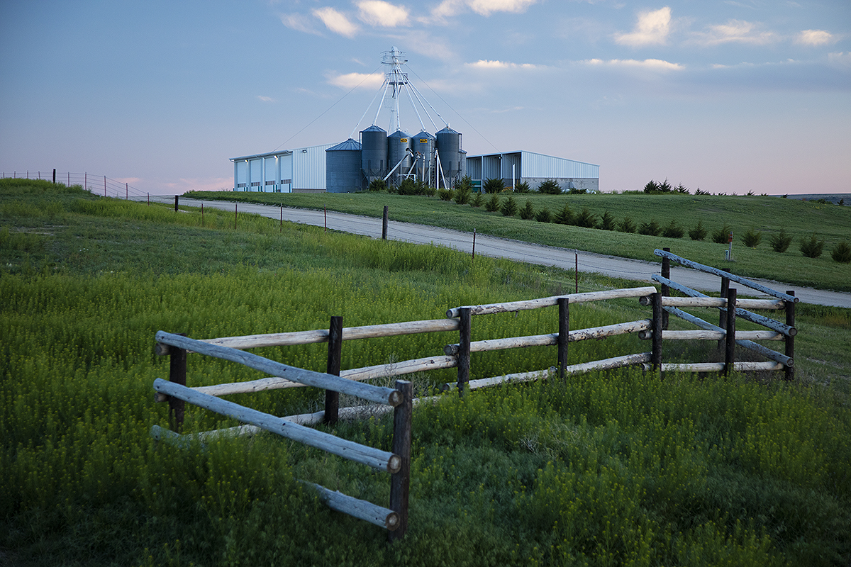 Lifestyle photography for an agricultural company.