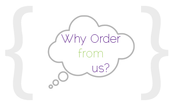 Why order from us?