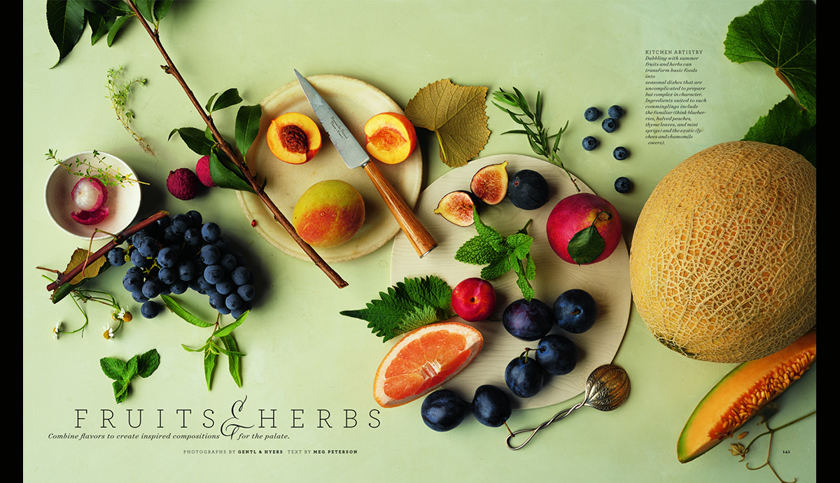 Fruits and Herbs