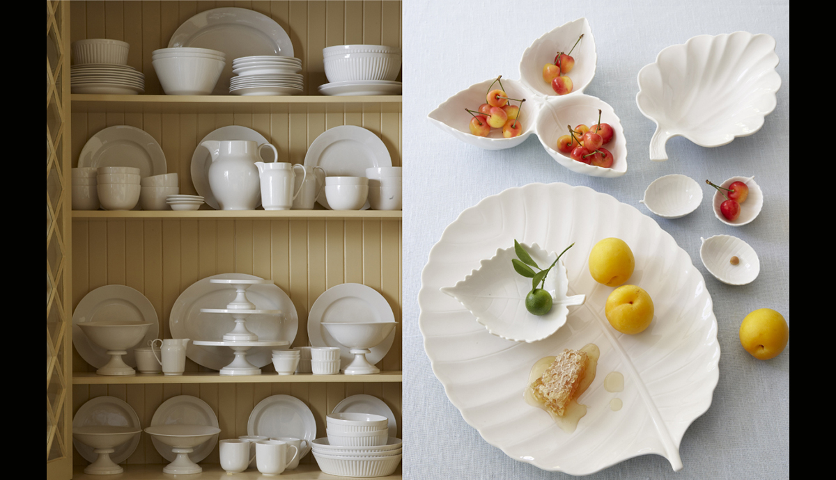 Martha Stewart Collection Whiteware China Program for Macy's