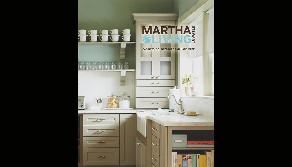 Martha Stewart Kitchens with Home Depot