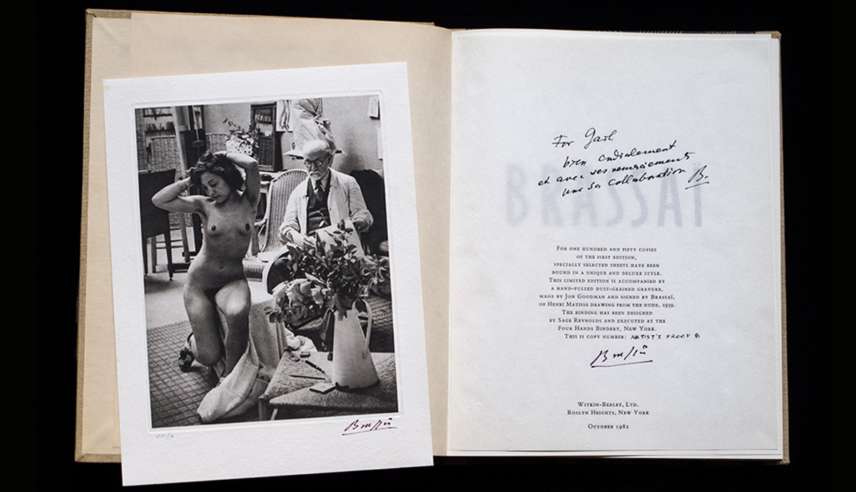 Brassai The Artists of My Life, by Brassai and Richard Miller