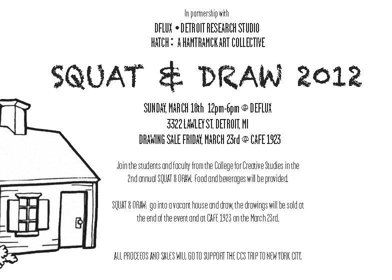 Squat & Draw