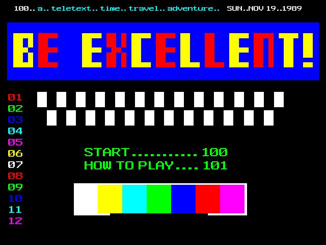 [Title screen]