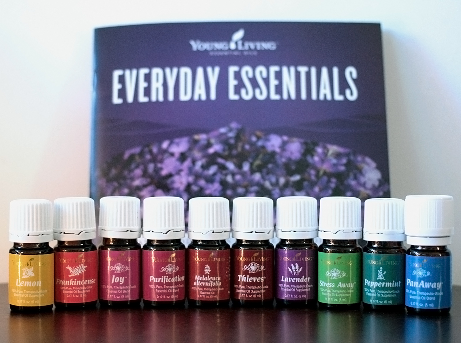 Young Living Everyday Essentials - 10 Oil Set from Premium Starter Kit