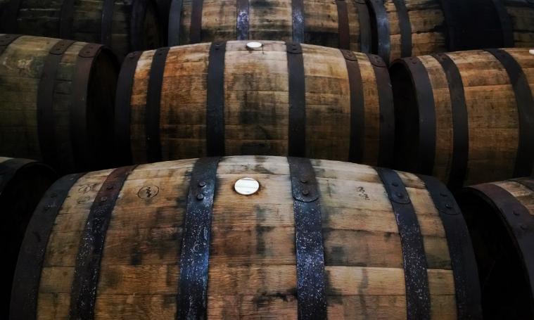 4 B&E's Trees Bourbon Barrel Aged Maple Syrup Aging.jpg