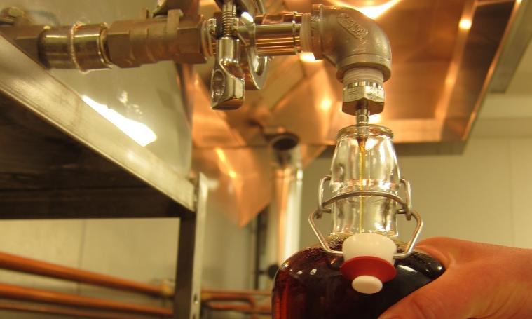 7 B&E's Trees Bourbon Barrel Aged Maple Syrup Bottling.JPG