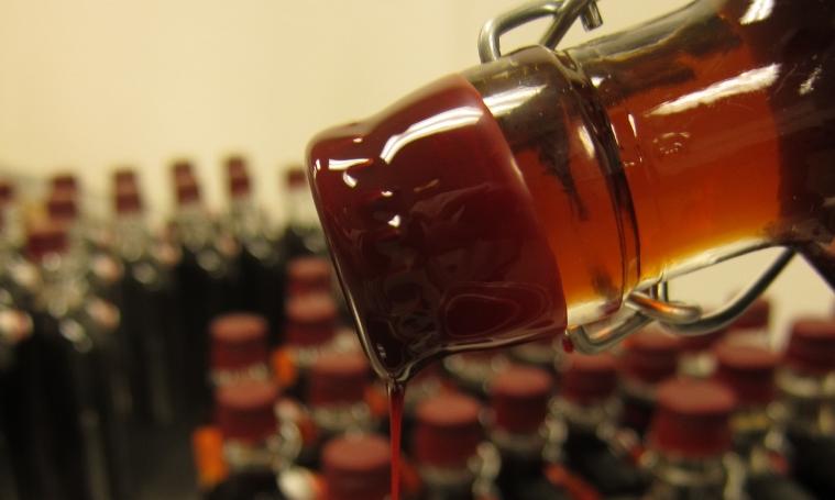 9 B&E's Trees Bourbon Barrel Aged Maple Syrup Hot Wax.JPG