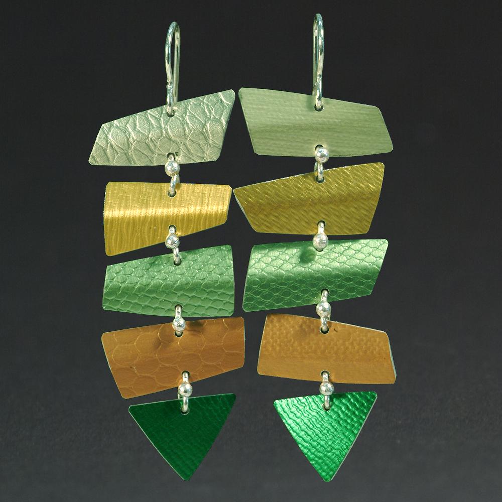 A - Chablis, Gold, Lime, Orange, Green