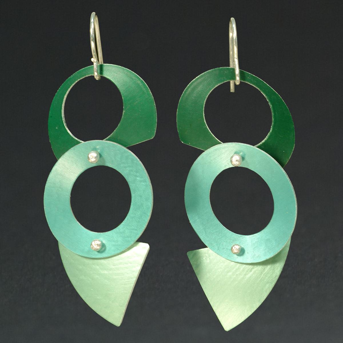 D - Green, Turq., Chablis