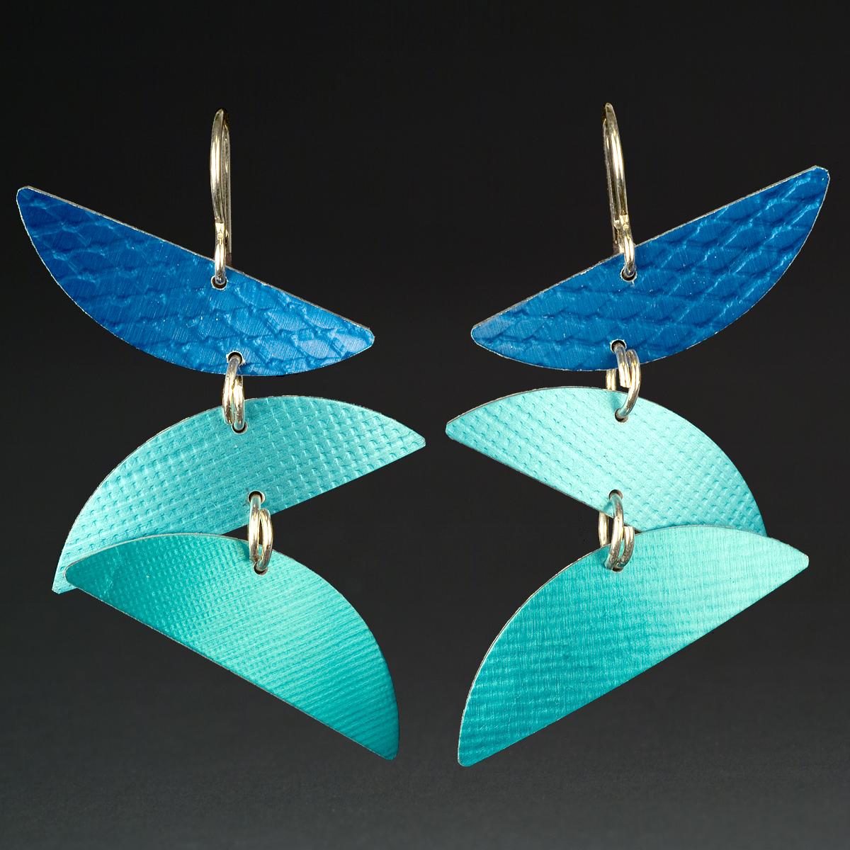 D - Royal, Aqua, Turquoise