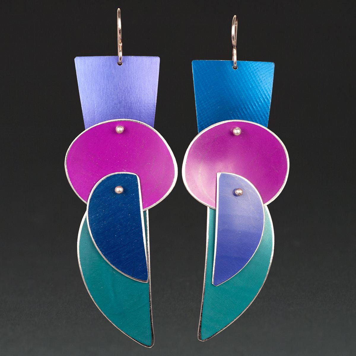 A - Purple, Royal, Violet, Turquoise