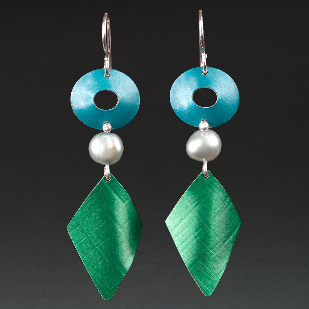 A - Turquoise, Green