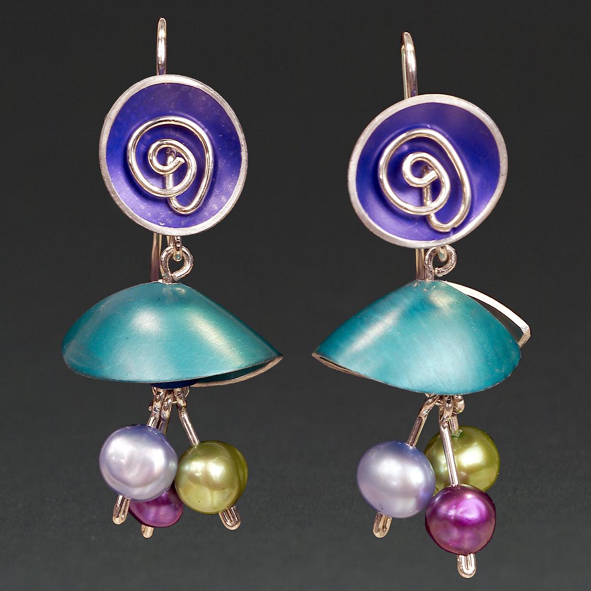 B - Purple, Turquoise