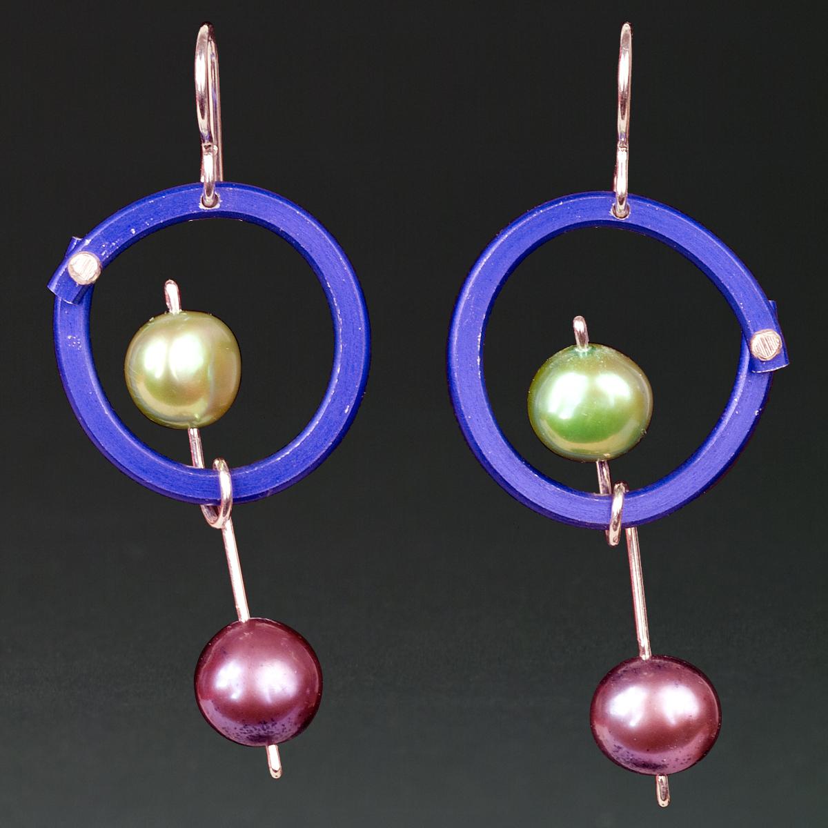 E - Purple