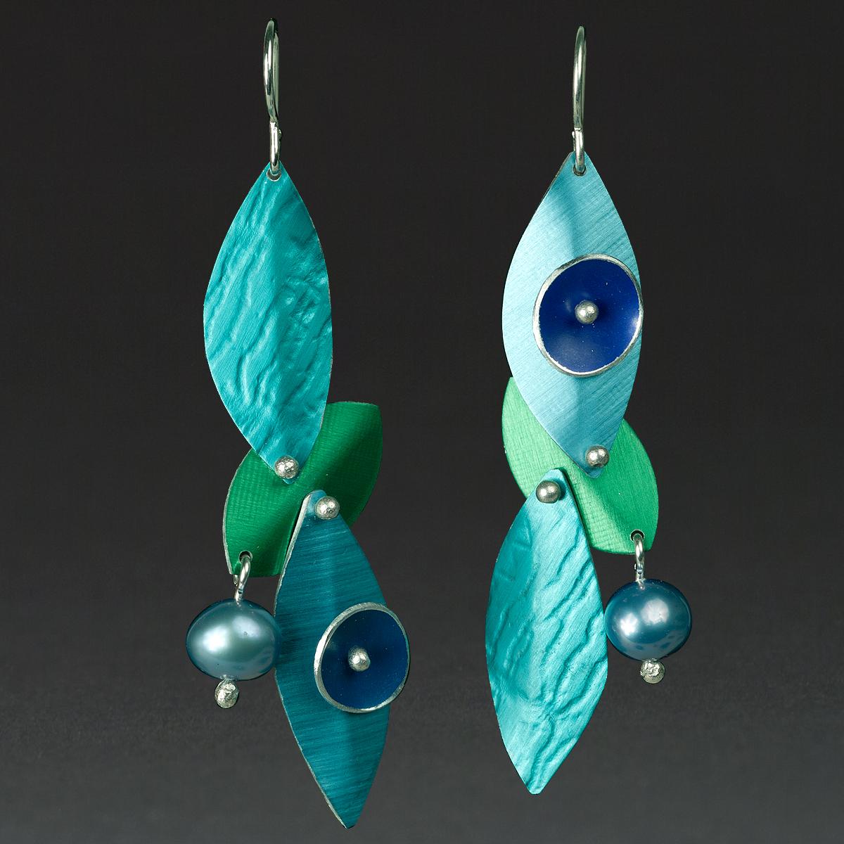 E - Turquoise, Aqua, Green