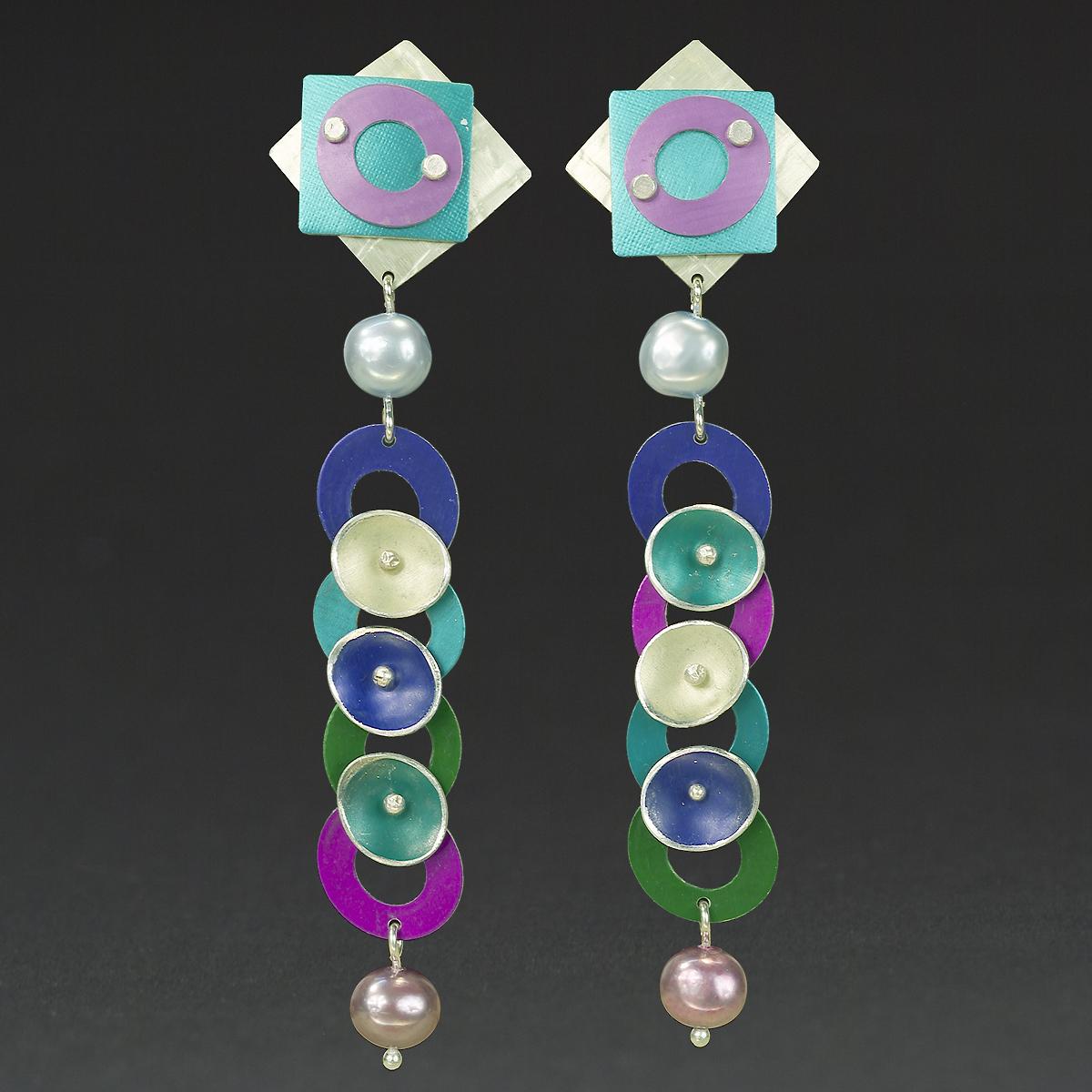 C- Lime, Turquoise, Fuchsia, Purple