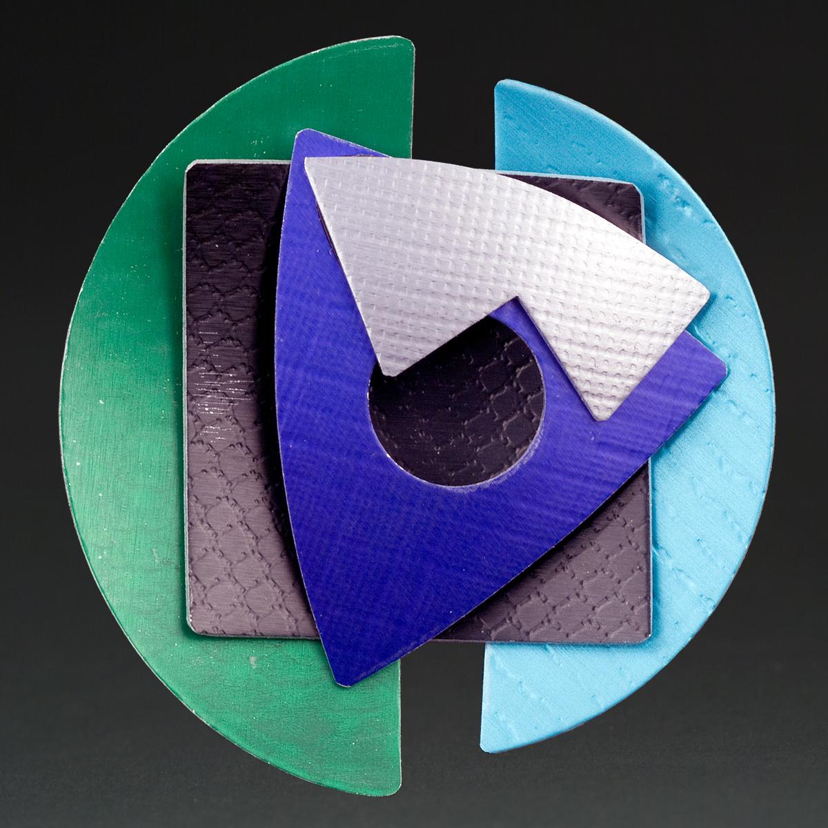 A - Green, Black, Purple, Silver, Aqua