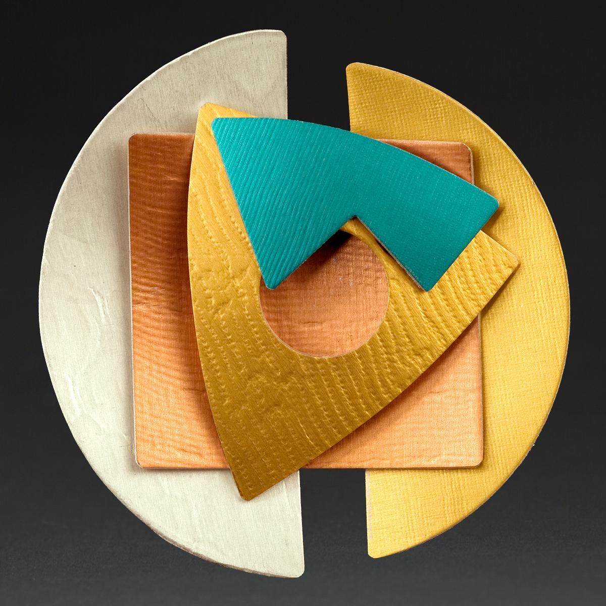 B - Chablis, Rust, Gold, Turquoise, Orange