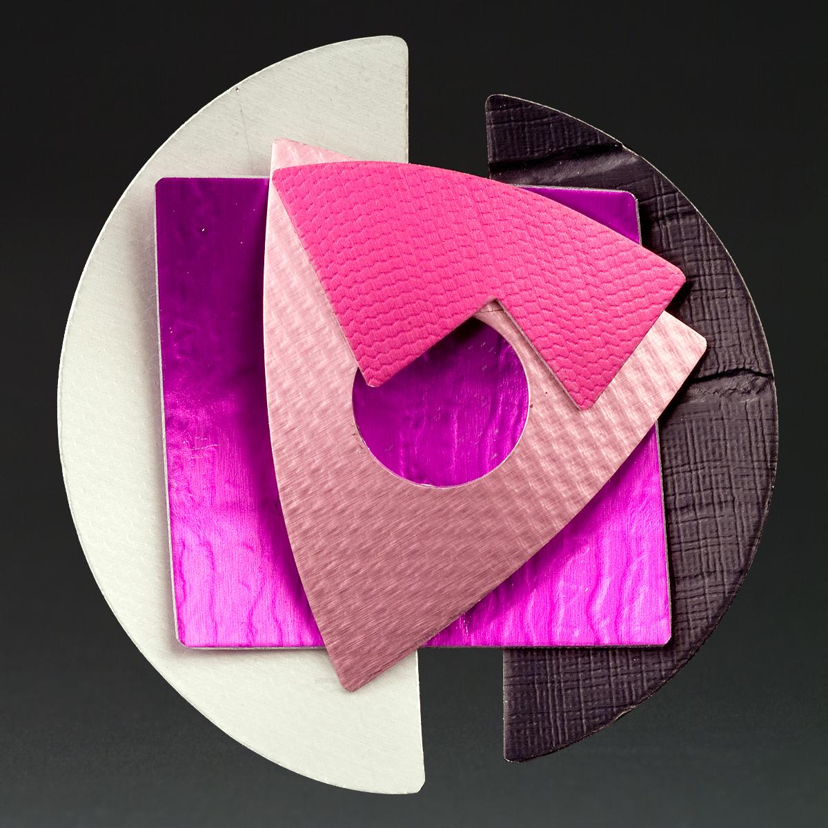 C - Silver, Violet, Pink, Berry, Black