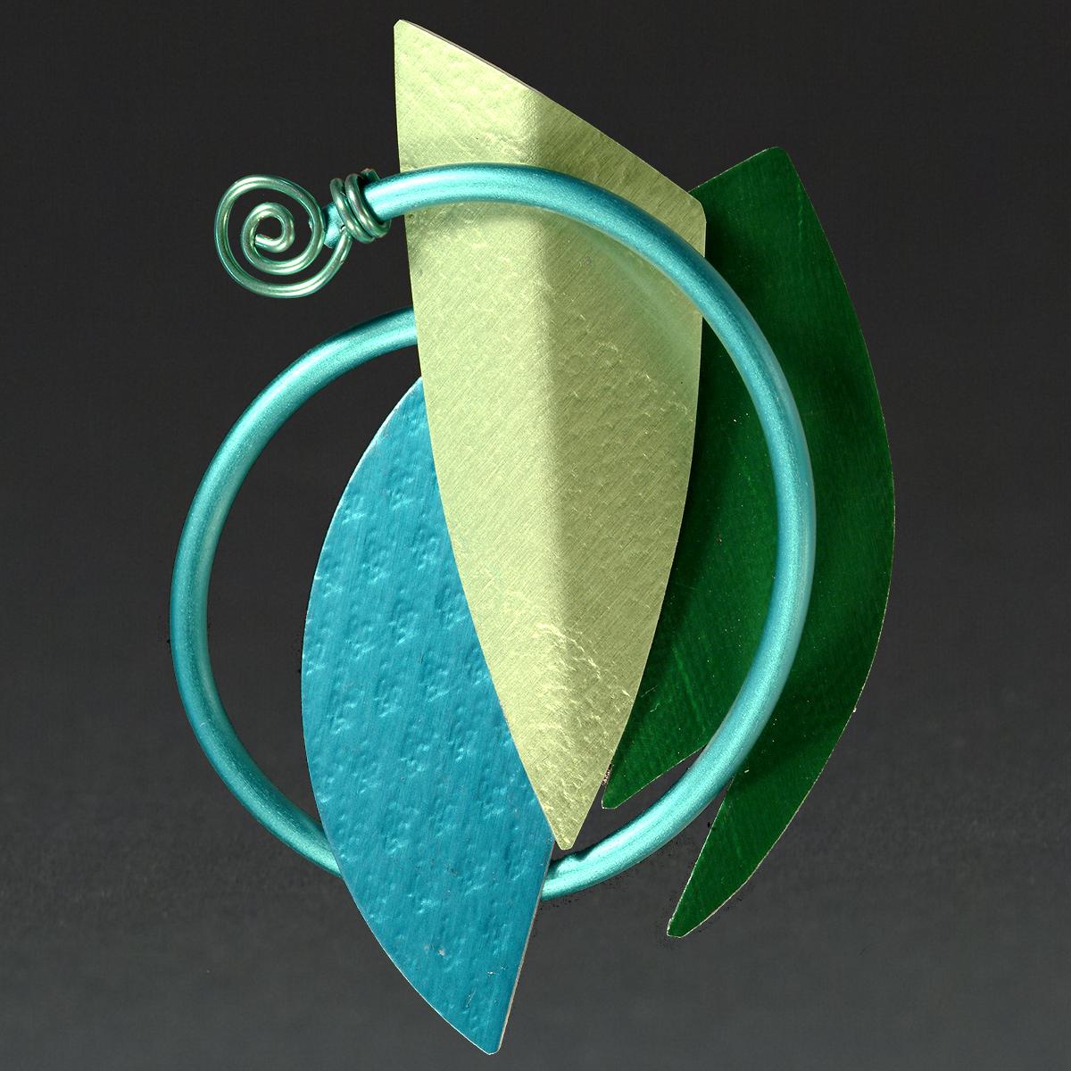 B - Aqua, Lime, Green