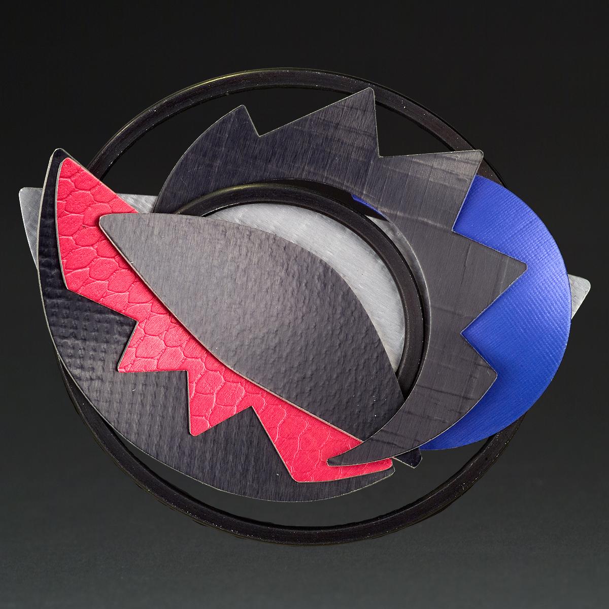 C - Grey, Black, Red, Purple