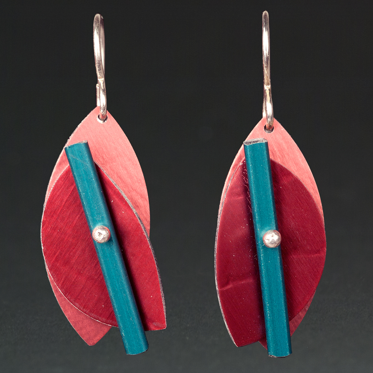 C- Rust, Red, Turquoise