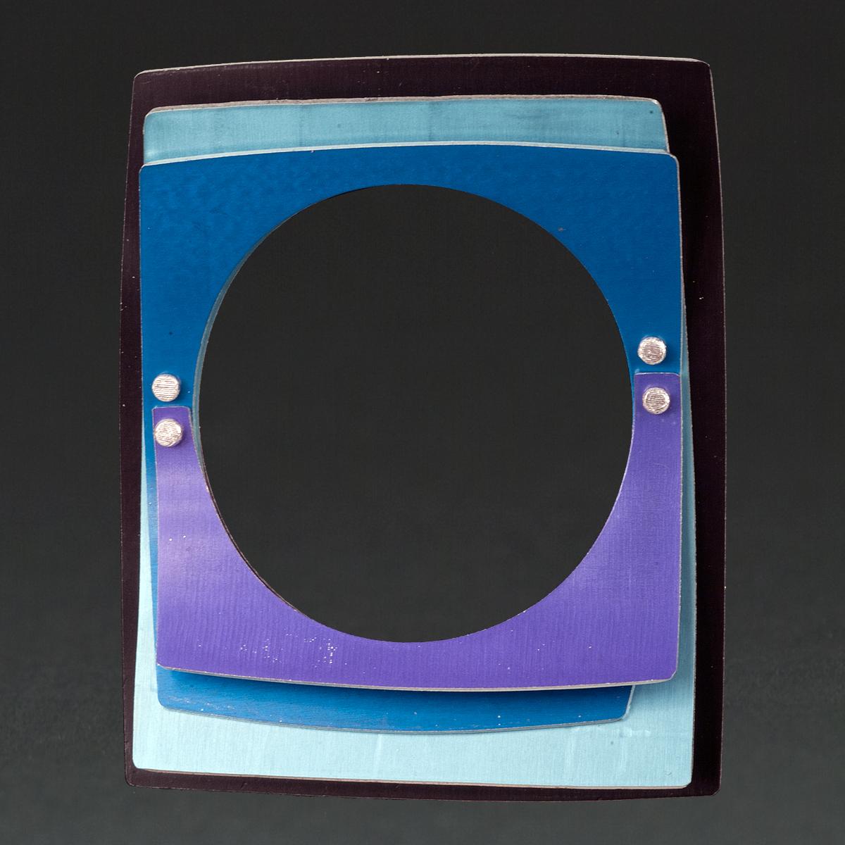 E - Black, Aqua, Royal, Purple