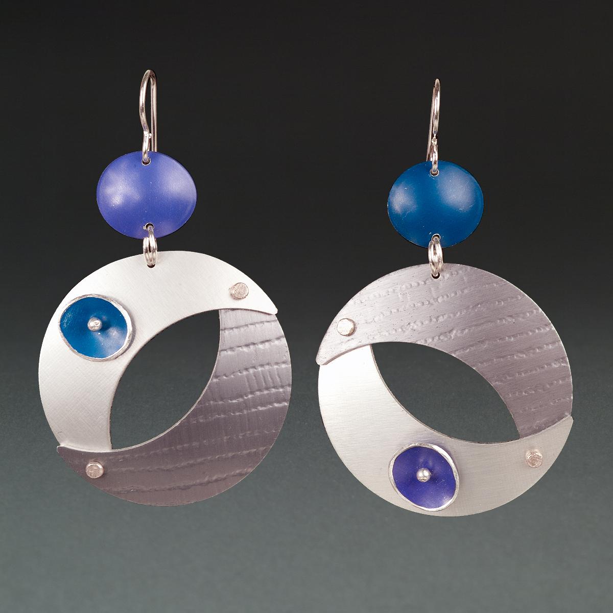 B - Purple, Silver, Grey, Royal