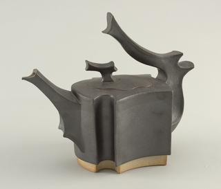 Stoneware Teapot (slab built) c.1983